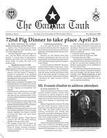 1998 Pig Dinner Newsletter Gamma Tau (Georgia Tech University)
