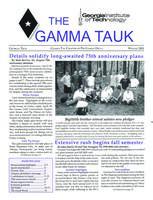 2001 Winter Newsletter Gamma Tau (Georgia Tech University)