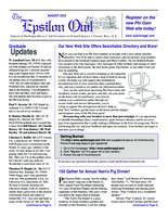 2002 August Newsletter Epsilon (University of North Carolina)
