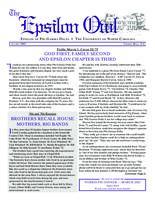 2002 January Newsletter Epsilon (University of North Carolina)