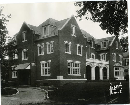 Exterior of the Wabash College Chapter House.