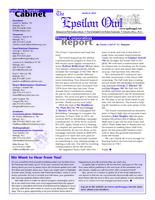 2005 March Newsletter Epsilon (University of North Carolina)