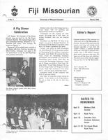 1986 March Newsletter Chi Mu (University of Missouri)