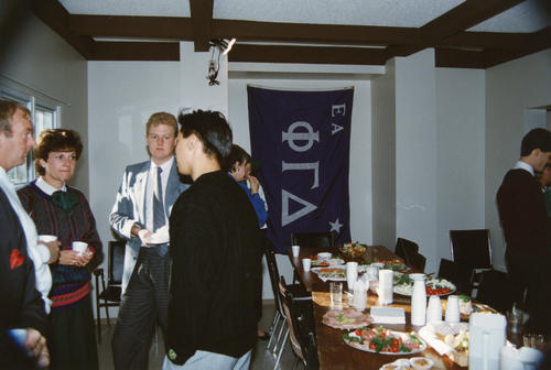 University of Alberta Chapter Parent's&Grad Brothers Event in October 1987