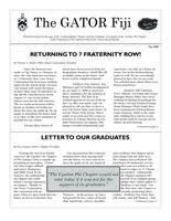 2008 May Newsletter Upsilon Phi (University of Florida)