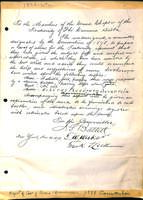 1878 (November 30) Report of the Coat of Arms Committee to Grand Chapter