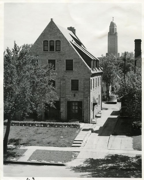 University of Nebraska chapter house exterior