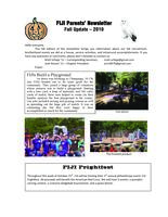2010 Fall Newsletter Chi Iota (University of Illinois) - Parents Newsletter