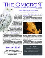 2010 Fall Newsletter Omicron (University of Virginia)