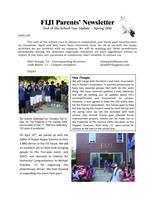 2010 Spring Newsletter Chi Iota (University of Illinois) - Parents Newsletter...