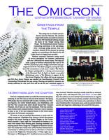 2010 Spring Newsletter Omicron (University of Virginia)