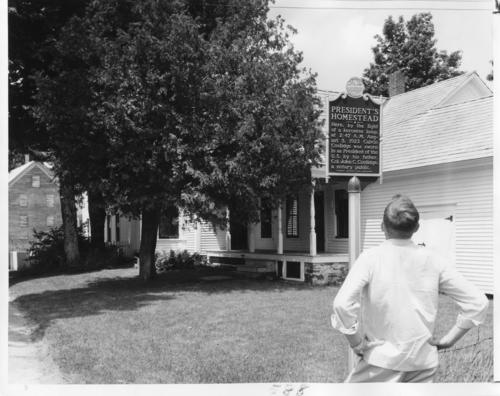Calvin Coolidge's (Amherst College 1865) homestead in Plymouth, Vermont.