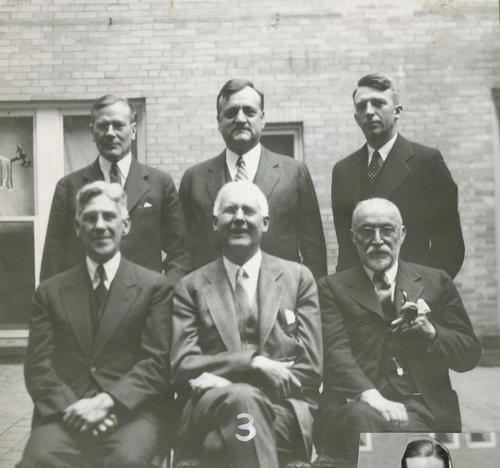 "Image labeled ""3"". The 82nd Ekklesia was held in San Antonio, Texas at The Gunter Hotel, on December 30, 1930 through January 2, 1931. There were 314 Brothers registered for the 82nd Ekklesia."