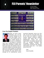 2012 Spring Newsletter Chi Iota (University of Illinois) - Parents Newsletter...