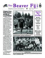 2012 Winter Newsletter Kappa Omicron (Oregon State University)