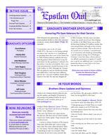 2013 April Newsletter Epsilon (University of North Carolina)