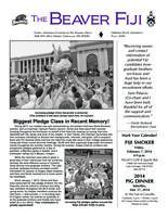 2013 Fall Newsletter Kappa Omicron (Oregon State University)
