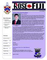 2013 Fall Newsletter Rho Phi (Rose-Hulman)