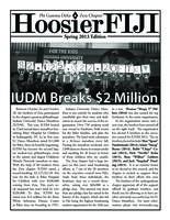 2013 Spring Newsletter Zeta (Indiana University)