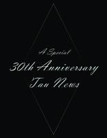 2014 Fall Newsletter Tau Nu (RPI)