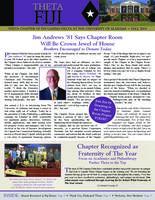 2014 Fall Newsletter Theta (University of Alabama)