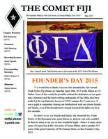 2015 May Newsletter Tau Delta (University of Texas Dallas)