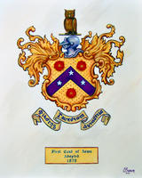 1879 Coat of Arms - Color