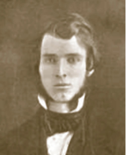 "Naaman Fletcher (Jefferson College 1849), Founder of Phi Gamma Delta , Naaman Fletcher (Jefferson College 1849) (1824-1864)  Of ""Nancy,"" as the boys called the first Secretary and second President of the ""Delta Association,"" less is known than of the other five Founders. It is of record, however, that the date of his birth was February 27,1824, and that the place was Zanesville, Ohio. His father died when Naaman was three years old and he was adopted by a distant relative at whose expense he was educated. It seems clear that he studied law and was admitted to the bar before enrolling at Jefferson College but, realizing the insufficiency of his basic education, he entered the sophomore class at Jefferson when 23 years of age, graduating with the class of '49. From all indications, Fletcher was a very colorful, red-blooded youth. While at Canonsburg he apparently led a full life socially. Aside from much mention of the ""Delta Association,"" his fluent letters speak mostly of brown-eyed maids and occasionally of other diversions, such as fishing, hunting, ice-skating, hiking and an infrequent evening spent at the tavern ""with the boys.""  As the only one of ""The Immortal Six"" who did not graduate in 1848, Fletcher headed the chapter in its second year and his leadership had real significance in the perpetuation of our order.  After graduation, Fletcher practiced law for about two years, supposedly at Piqua, Ohio, before becoming editor of The Massillon News, which paper he published in partnership with his former classmate and brother Phi Gamma Delta, James W. Logan (Jefferson 1849). At that period in his life, he married beautiful Elizabeth Crosby, the daughter of a prominent physician, and in 1853 moved with her to Wabash, Ind. There he bought first The Gazette and later The Intelligencer, uniting the two and then serving as editor and publisher of the combined newspapers, a rabid pro-Union organ.  While legend said Fletcher caught a cold returning from an anti-secession meeting at which he had been key speaker, and died of pneumonia, this is apparently not the case. Contemporary accounts indicate he was ill for over a month with typhoid fever before his death on December 20, 1864.  Naaman's Gravesite  Fletcher was editor of the Wabash Gazette and Intelligencer until stricken with typhoid fever in November, 1864. ""He lay ill for thirty-two days. [Tomos Alpha erroneously reports the illness as of only three days' duration.] He died on Tuesday, December 20, and was buried the next day.""  In 1992, the original stone was cleaned, re-engraved, and inset into a black stone surround by the Fraternity.  Directions  Wabash, Indiana is located northeast of Indianapolis and can be reached via U.S. Route 24. Follow Business 24 into Wabash where it becomes Stitt Street. Turn left onto Falls Avenue, which will take you to Falls Cemetery. Turn right into the main entrance (by custodian's building) and follow the driveway turning right at the first opportunity. As you go up the small rise, there is a large oak tree followed by a large spruce on the right side. Fletcher's unique tombstone is next and is easy to spot, right beside the road and framed in black stone, in Section OP, Lot 186, space 1."