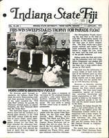 1972 January Newsletter Iota Sigma (Indiana State University)