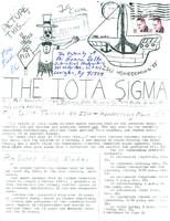 1983 Fall Newsletter Iota Sigma (Indiana State University)