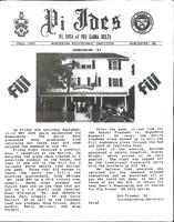 1987 Fall Newsletter Pi Iota (Worcester Polytechnic Institute)