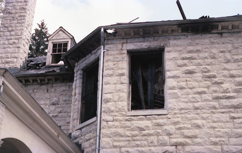 On April 11, 1984 a fire at the Washington & Lee University Phi Gamma Delta chapter house claimed the life of chapter president Tom Fellin (Washington & Lee 1986) and destroyed the chapter house.  The fire happened over spring break.  Tom Fellin was in house as he was a member of the Washington & Lee baseball team.