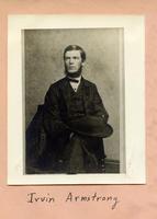 1862 - Irvin Armstrong (DePauw University 1862)