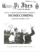 1989 Fall Newsletter Pi Iota (Worcester Polytechnic Institute)