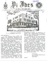 1989 Winter Newsletter Pi Iota (Worcester Polytechnic Institute)