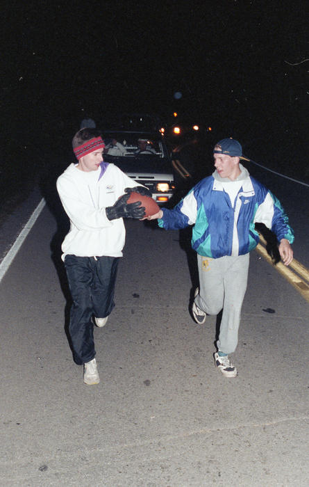1992 Run to River's Edge by the Upsilon Kappa chapter at the University of Kentucky.