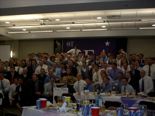 2006 Theta Tau Pig Dinner at Tennessee Technological University.