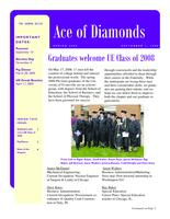 2008 September Newsletter Epsilon Iota (University of Evansville)