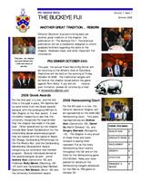 2008 Summer Newsletter Omicron Deuteron (Ohio State University)