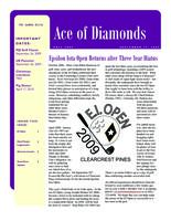 2009 Fall Newsletter Epsilon Iota (University of Evansville)