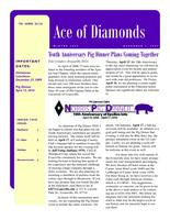 2009 Winter Newsletter Epsilon Iota (University of Evansville)
