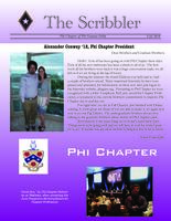2010 Fall Newsletter Phi (Northwestern University)