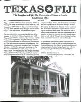 2010 Fall Newsletter Tau Deuteron (University of Texas)
