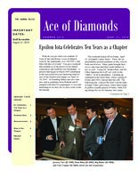 2010 Summer Newsletter Epsilon Iota (University of Evansville)