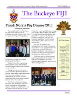 2011 November Newsletter Omicron Deuteron (Ohio State University)