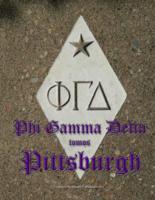 1863-2016 Phi Gamma Delta - Tomos Pittsburgh