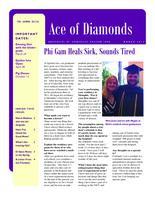 2012 March Newsletter Epsilon Iota (University of Evansville)