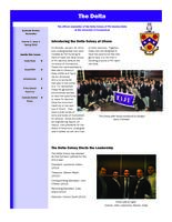 2012 Spring Newsletter Delta Colony (University of Connecticut)