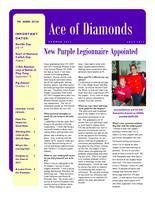 2012 Summer Newsletter Epsilon Iota (University of Evansville)