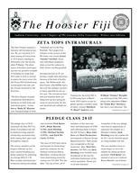 2012 Winter Newsletter Zeta (Indiana University)